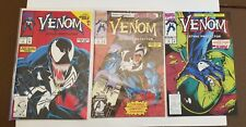 VENOM LETHAL PROTECTOR COMIC BOOKS ISSUES #1, 2, 3 - 1992 -1993 MARVEL