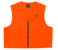 BROWNING BLAZE ORANGE HUNTER VEST The Best There Is! New!