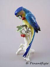 ENS Figura Ara pappagallo figurine figure porcellana personaggio Parrot mulini marchio 32cm