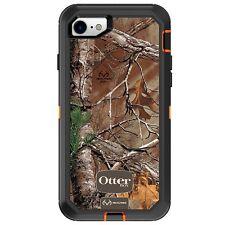 OtterBox Defender Series Case for iPhone 8 & iPhone 7 (Blaze Orange Xtra CAMO)