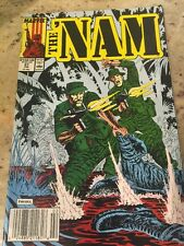 THE 'NAM MARVEL COMIC BOOK FEB 27 1988 MILITARY WAR GUC