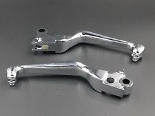 Skull Brake Clutch Levers for Harley Softail Dyna Sportster  Road King Cruiser