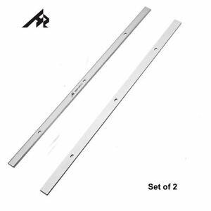 Cuchillas Cepilladora-2Pcs Ingenier/ía magn/ética Cepilladora de madera ajuste calibradora madera de calibrador de cuchillas Clip de montaje