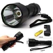 Big Head 5 Modes 2200 LM CREE XM-L T6 LED Flashlight Torch Light Lamp Kit