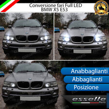 KIT LED BMW X5 E53 ANABBAGLIANTI ABBAGLIANTI POSIZIONE 6500K CANBUS BIANCO