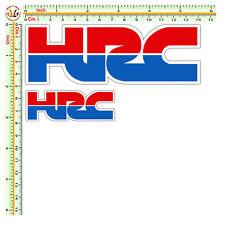 Adesivi HRC honda sticker moto casco tuning helmet print pvc scontornati 2 pz.