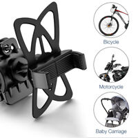 Bike Silicone Belt Bicycle Phone Holder Handlebar Mount For Samsung S10 Huawei