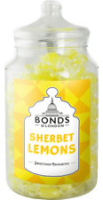 BONDS - SHERBET LEMONS - 1.7KG JAR, BOILED SWEETS, GIFT JAR, CHRISTMAS, XMAS