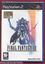 FINAL FANTASY XII  X PS2 - NUOVO SIGILLATO - ITA