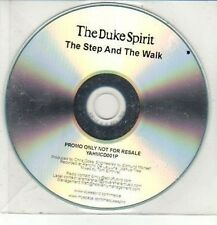 (DD165) The Duke Spirit, The Step and the Walk - DJ CD