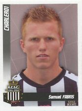 N°096 SAMUEL FABRIS # BELGIQUE SPORTING CHARLEROI STICKER PANINI FOOTBALL 2011