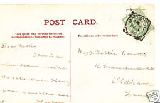 Genealogy Postcard - Family History - Coutts - Oldham - Lancashire  BS21