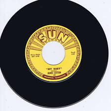JAMES COTTON - MY BABY / STRAIGHTEN UP BABY - Legendary SUN label BLUES BOPPER