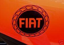 FIAT Noir & Clair Autocollants Grande Punto Abarth Panda GT