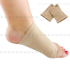 New Silicone Foot Arch Support Gel Heel Cushion Insole Pain Relief Flat Feet