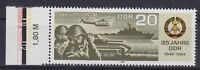 DDR Mi Nr. 2894 F 22 **, PF Linie unter Rotor gebrochen, Plattenfehler, MNH