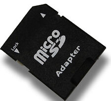 1x Micro SD Adapter auf SD 2/4/8/16/32 oder 64 GB Speicherkarten (SD/SDHC/SDXC)