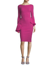 $695 LA PETITE ROBE DI CHIARA BONI AGAPE DRESS in PINK sz 12/48 NWT
