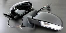 VW Golf Jetta MK4 4 MK5 5 Look Euro Sport Mirrors LED Turn Signals Side Marker -