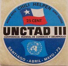 NOVIB actie - Sticker Chili Helpen UNCAD III