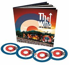 The Who: Live in Hyde Park (New Deluxe Book+DVD+Blu-ray+2CD)