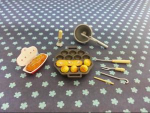 Orcara 2009 Store Canteen Caca Miniature Set #2 Takoyaki New In Package No Card