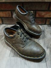Vintage Dr. Martens AirWair Leather Shoes Low Top Boots Brown Mens 4 Womens 7