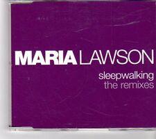 (FK431) Maria Lawson, Sleepwalking The Remixes - 2006 CD