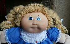 "1984 TSUKUDA CABBAGE PATCH KIDS 16"" doll  -  coleco - JAPAN - SO CUTE!"