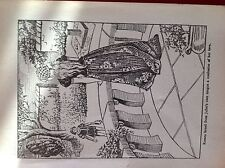 m2k article 1950s book plate Romeo and Juliet the balcony scene