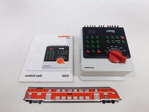 CU124-1# Märklin digital H0/AC 6021 control unit/Zentraleinheit, NEUW