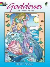 Goddesses Coloring Color Book Wiccan Pagan Relaxation
