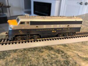 Mantua 8018 Chesapeake and Ohio Diesel Locomotive Vintage Tested