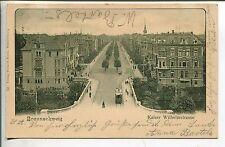 Frankierte Ansichtskarten aus Niedersachsen vor 1914 mit dem Thema Straßenbahn