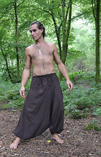 MENS HAREM TROUSERS HIPPIE Hippy ALADIN ALIBABA Baggy Man Pants YOGA Cotton