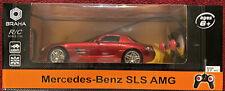 Braha Mercedes-Benz SLS AMG Red RC Radio Control 1:24 light ** RARE **