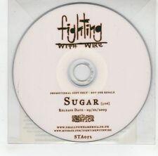 (GJ296) Fighting With Wire, Sugar - 2009 DJ CD