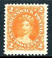 Canada 1860 New Brunswick 2¢ QV  Scott #7 Mint R69