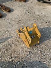 Cat 302 12 Inch Tooth Bucket Caterpillar New 35 Mm Pins Mini Excavator