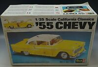 REVELL 1955 CHEVY CALIFORNIA CLASSICS MODEL KIT VINTAGE 1/25 SCALE MIB