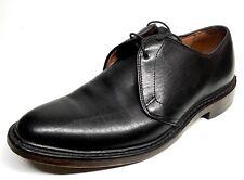 Sz. 7.5 D  ALLEN EDMONDS Jodox Black Leather Derby Mens Shoes Made In USA
