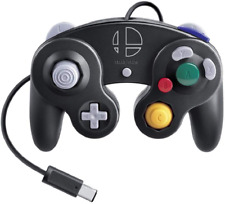 NEW Nintendo Gamecube Controller Smash Bros. Black JAPAN OFFICIAL IMPORT