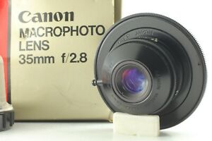[AS-IS] Canon macro photo lens 35mm f2.8 in box from JAPAN #211609