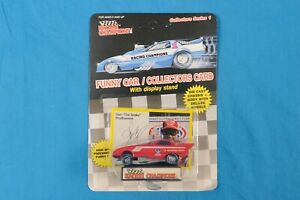 1989 Don Prudhomme The Snake FC Racing Champions w/ Display Stand 1:64 NHRA