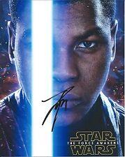 John Boyega autograph - signed star wars force awakens photo