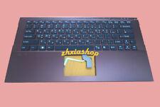 New for SONY VAIO VPCZ2 VPC-Z2 keyboard- KR/Korean English backlit Palmrest