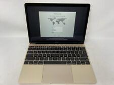 MacBook 12 Gold 2017 1.3 GHz Intel Core i5 8GB 512GB SSD - Good - Screen Wear