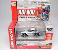 AUTO WORLD 1957 CHEVY CORVETTE - HOT ROD - HO SLOT CAR  XTRACTION - MIB - NEW