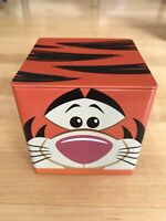 Hallmark Cubeez Tigger from Disney Winnie the Pooh Storage Tin - New!