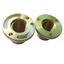 2PC The Mill X Axis Screw Copper Sleeve Wing Nut Bridgeport Milling Machine Part